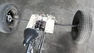электросамокат из гироскутера? Электровелосипед? А электромотоцикл Тri Glide не хотите?!
