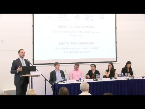 "INTERNATIONAL CONFERENCE ""Safety of Journalists – New Challenges and Responses"""