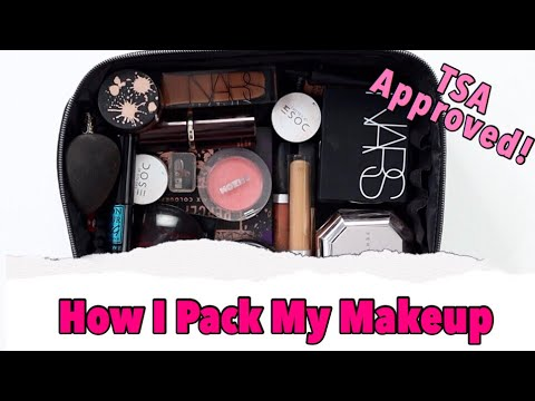 PACK WITH ME : HOW I PACK MY MAKEUP TRAVEL BAG thumbnail