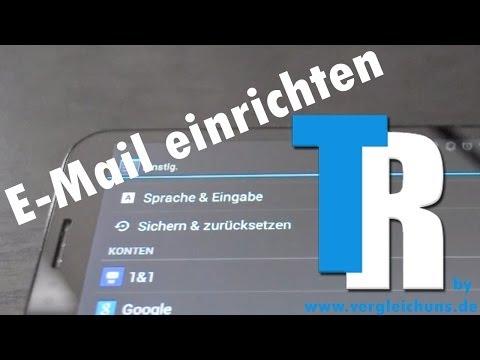 E-mail einrichten unter Android