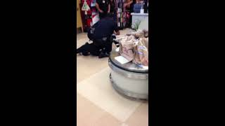 Crazy kids getting arrested at Ralph's