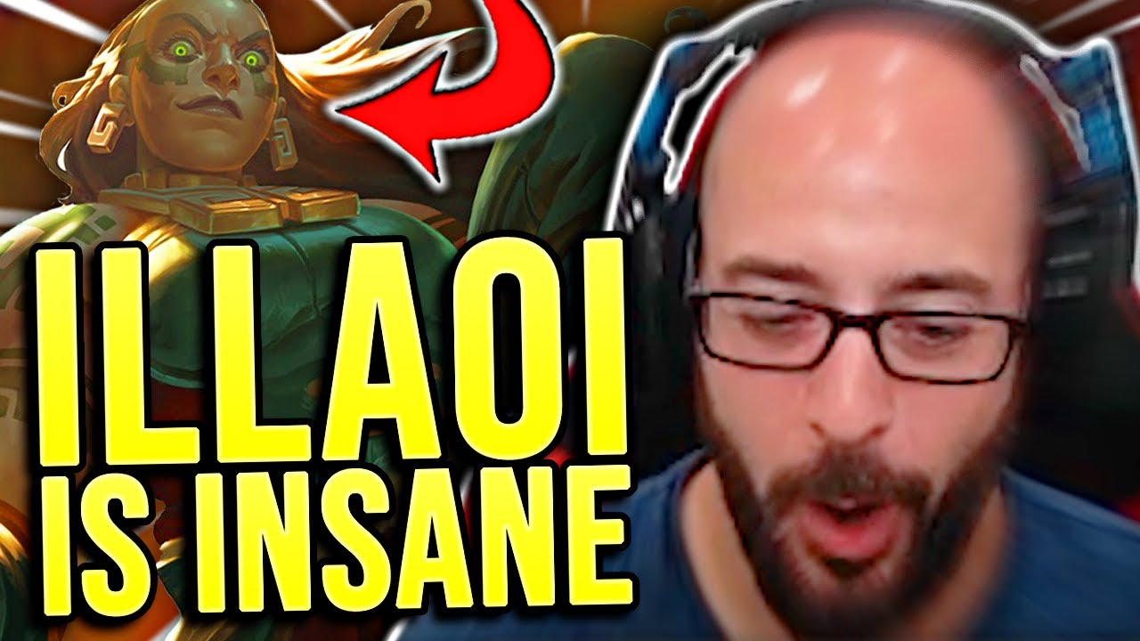 THIS IS WHY ILLAOI IS INSANE IN TOP LANE!!! - SRO Road to Challenger