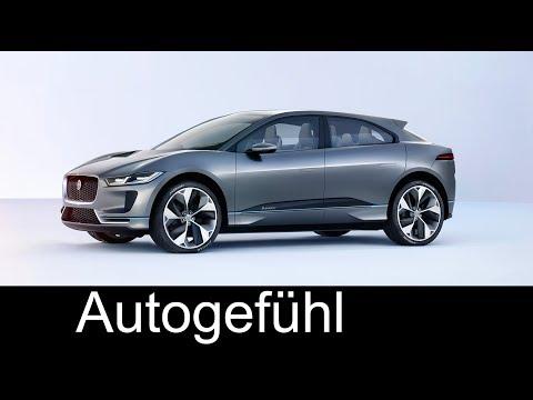 The future of Jaguar! Electric E-TYPE vs I-PACE EV SUV feature @ Tech Fest - Autogefühl
