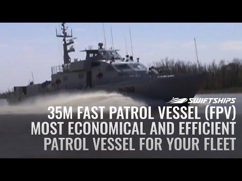 35 Meter Fast Patrol Boat