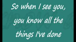 Third Eye Blind - Blinded (When i see you) Lyrics