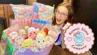 SHOWING WHAT I GOT FROM KAWAII SLIME SHOW CONTEST - SLIME SUPPLIES
