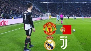 Cristiano Ronaldo First Hat Trick For Juventus Real Madrid Man Utd Portugal
