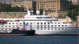 Valletta Cruise Port, Malta - The door to the Medi...