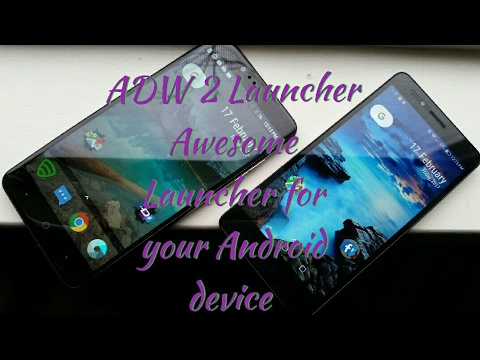 ADW 2 Launcher Awesome Launcher for all Android devices