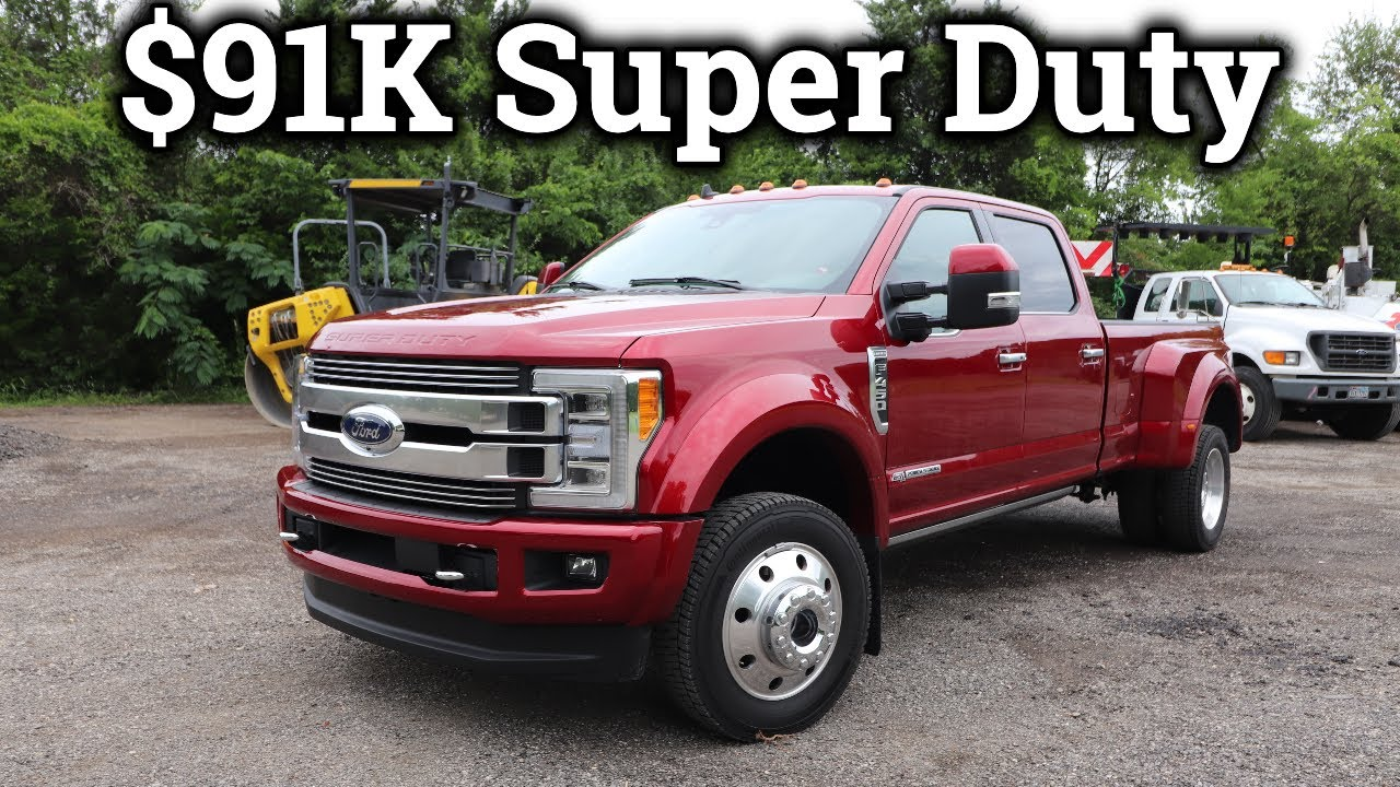 2019 Ford F-450 Limited | Serious SUPER DUTY Luxury! - YouTube