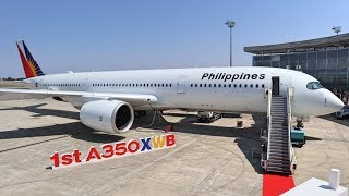 Complete Review of Philippine Airlines NEW A350900XWB