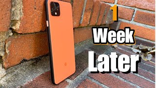 Google Pixel 4XL One Week Later! Battery Life/OS/Camera Update!