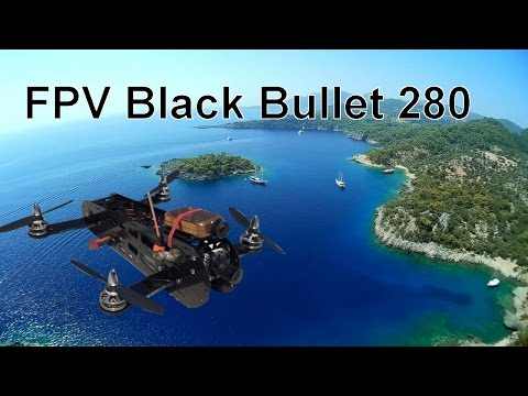 Sailing in Turkey with Black Bullet 280 FPV Race Quad