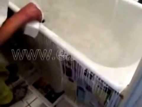 Видео Ремонт эмали ванной