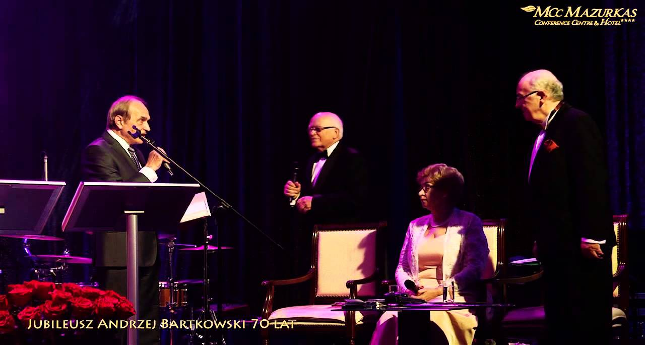 Jubileusz Andrzej Bartkowski 70 lat - Maestro Adam Zwierz (słynny bas) -  życzenia