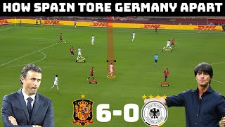 Tactical Analysis Spain 6 0 Germany How Luis Enrique Dominated Joachim Lowe