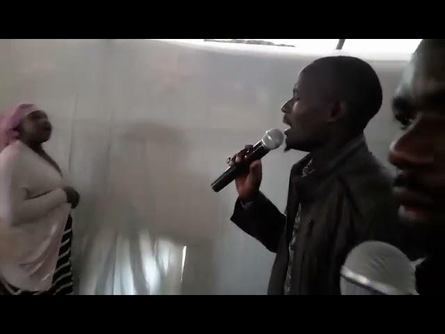 Worshipping Jesus - Working Faith Fellowship GMFC Kibera Slum Fellowship