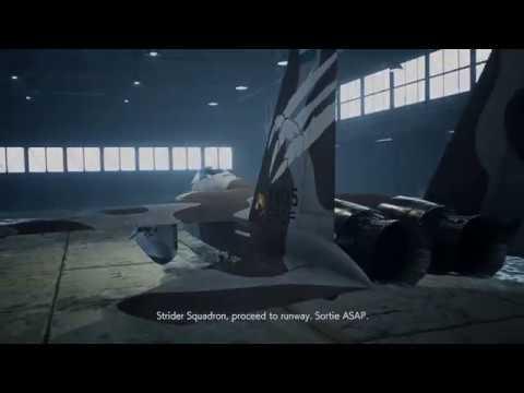 Trigger Flies F-15C Yuke Scheme In Ace Combat 7 DLC Mission 2 (with Custom BGM)