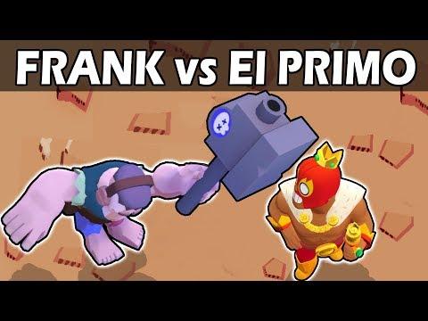 FRANK vs EL PRIMO | 1VS1 | Brawl Stars