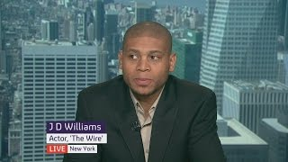 Baltimore protests: The Wire's Bodie on police brutality