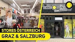 Stores Graz & Salzburg | Vlog | Tennis-Point