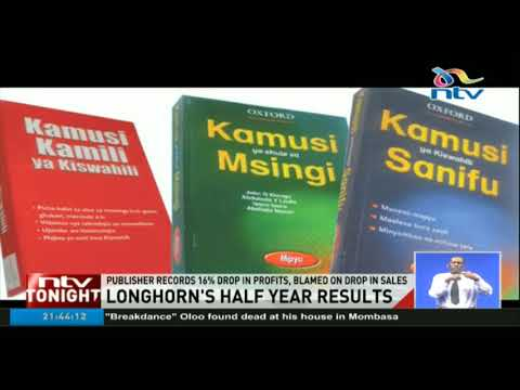 Longhorn Publishers records 16% drop in profits
