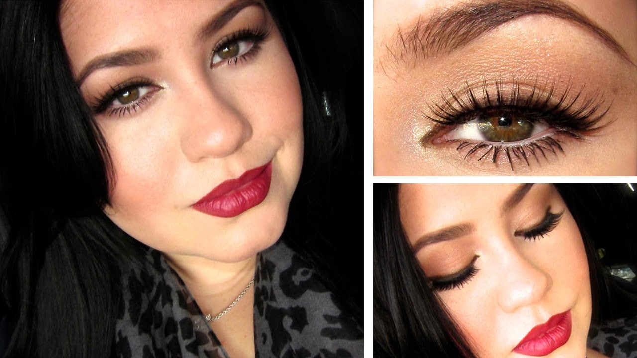 Urban Decay Naked 3 Palette Makeup Tutorial | Bold Lip