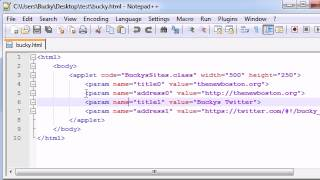 Intermediate Java Tutorial - 32 - Getting the Data from the HTML File