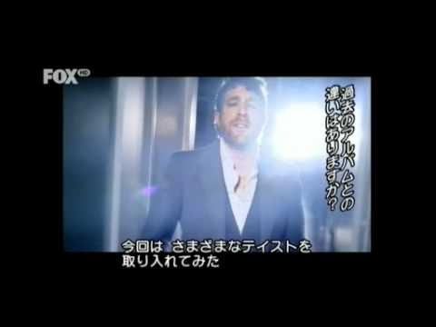 Elliott Yamin interview on Japanese TV 2011 3 words Three words