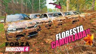 O PRIMEIRO FLORESTA CAMUFLADA DO FORZA HORIZON 4