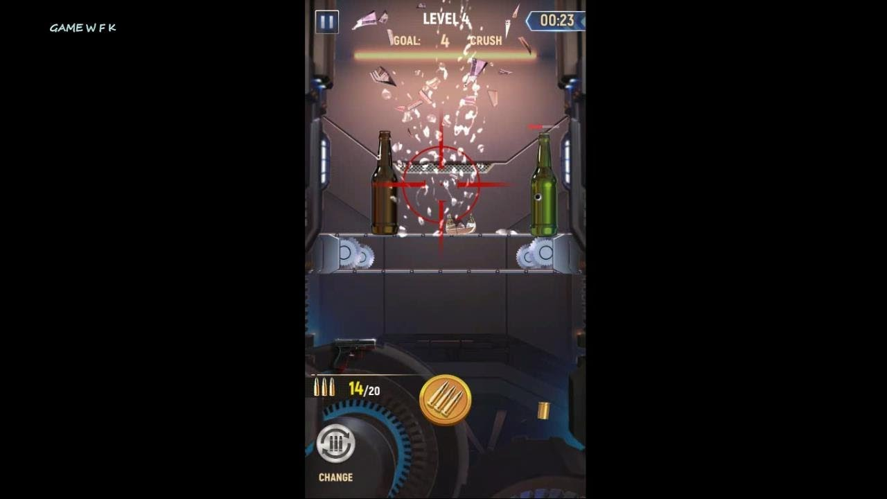 game bắn chai di động   Idle Gun Tycoon   game wfk - YouTube
