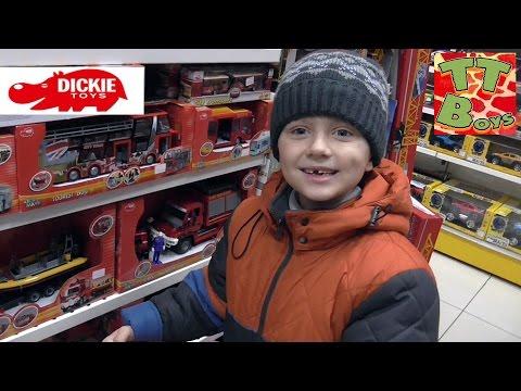 ✔Dickie Toys. Покупка Трактора с Прицепом в магазине игрушек от Игорька / Tractor with trailer ✔