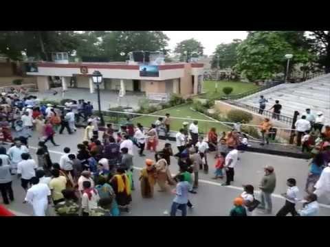 Wagah Boarder Post Parade scene