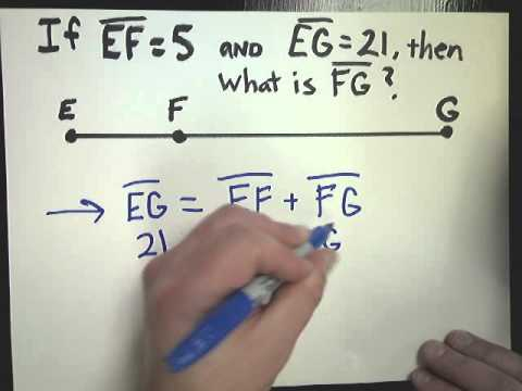 Segment Addition Postulate