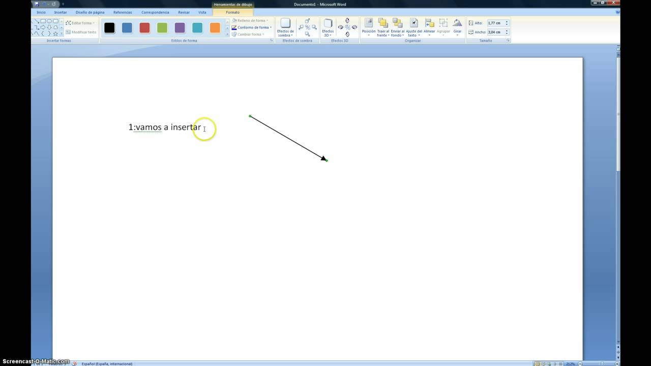 Como hacer esquema en word youtube for Como se elabora un vivero