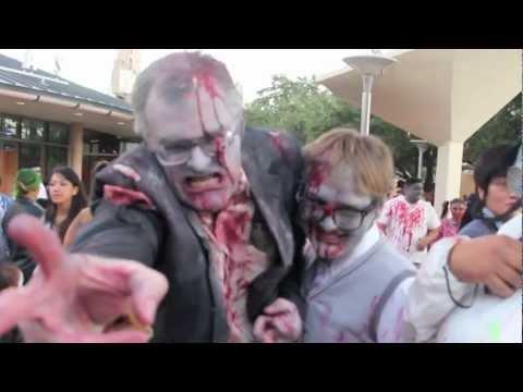 Zombie Walk 2012- San Antonio