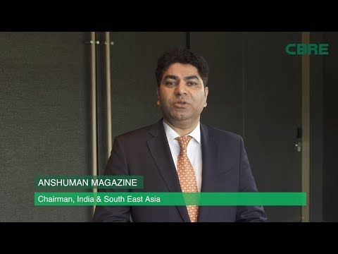 Anshuman Magazine, Chairman, CBRE India and Southeast Asia, discusses India's real estate space.