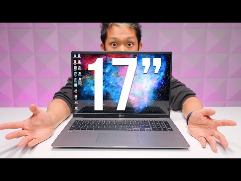 """The lightest 17"""" Laptop Ever? LG Gram 17-inch (Late 2020) gets new specs!"""