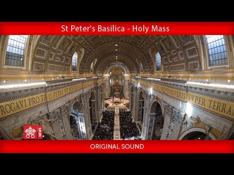 Pope Francis-Holy Mass to mark the World Mission Day 2019-10-20