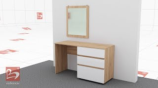 Dressing table from bedroom set Sunrise - Furniture Videnov
