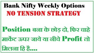 bank nifty option trading strategy | bank nifty weekly option strategy