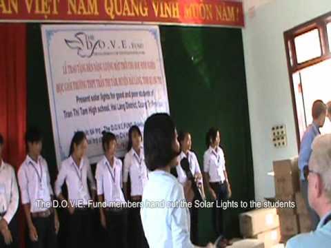 Solar Lights Project In Quang Tri, Vietnam - September 2011