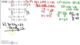Matematik 5000   Ma 2b   Kapitel 1   Additionsmetoden   1436