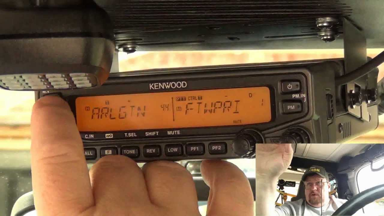 Remote Control, Kenwood TM VT71A using a Handy Talkie  (or other DTMF  capable radio)- AF5DN