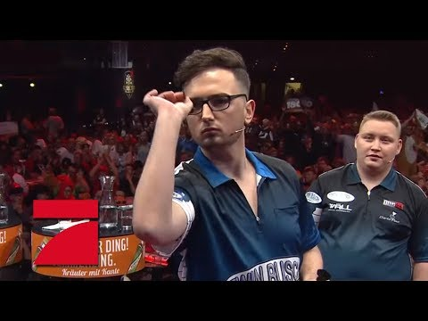 2. Halbfinale | MarcelScorpion & Martin Schindler vs. Fernanda Brandao & Rob Cross | Promi Darts WM
