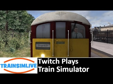 Twitch Plays Train Simulator 2016 - Isle of Wight, Class 483