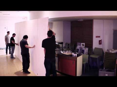 Building the Exhibition: Behind the Scenes - Creative Technology 2013