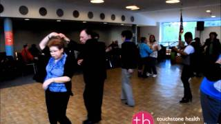 Seniors Salsa Dancing Fun at Touchstone Health Dance Event, Bronx NY