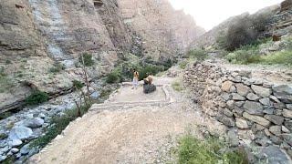 وادي المعيدن /الجبل الاخضر