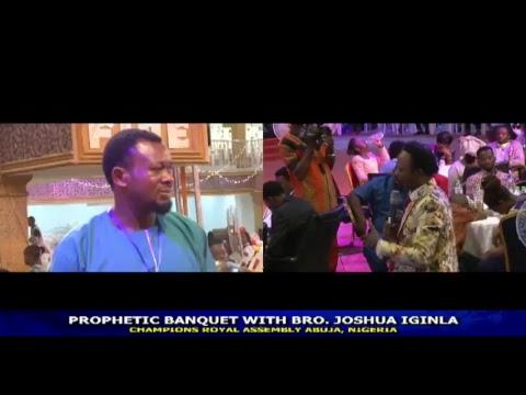 LIVE | MINISTERS BANQUET | WITH BRO. JOSHUA IGINLA | 26/05/2018 | CHAMPIONS INT'L HQ, NIGERIA